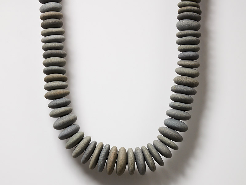 Artist, Chris Charteris, Aotearoa Necklace, 2017
